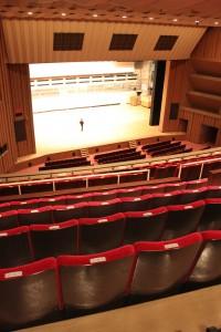 バレエ公演で親しまれてきたゆうぽうとホール=東京都品川区