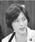 (写真)質問する田村智子議員=19日、参院文科委