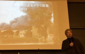 講演するJVC代表理事の谷山さん=15日、東京都千代田区