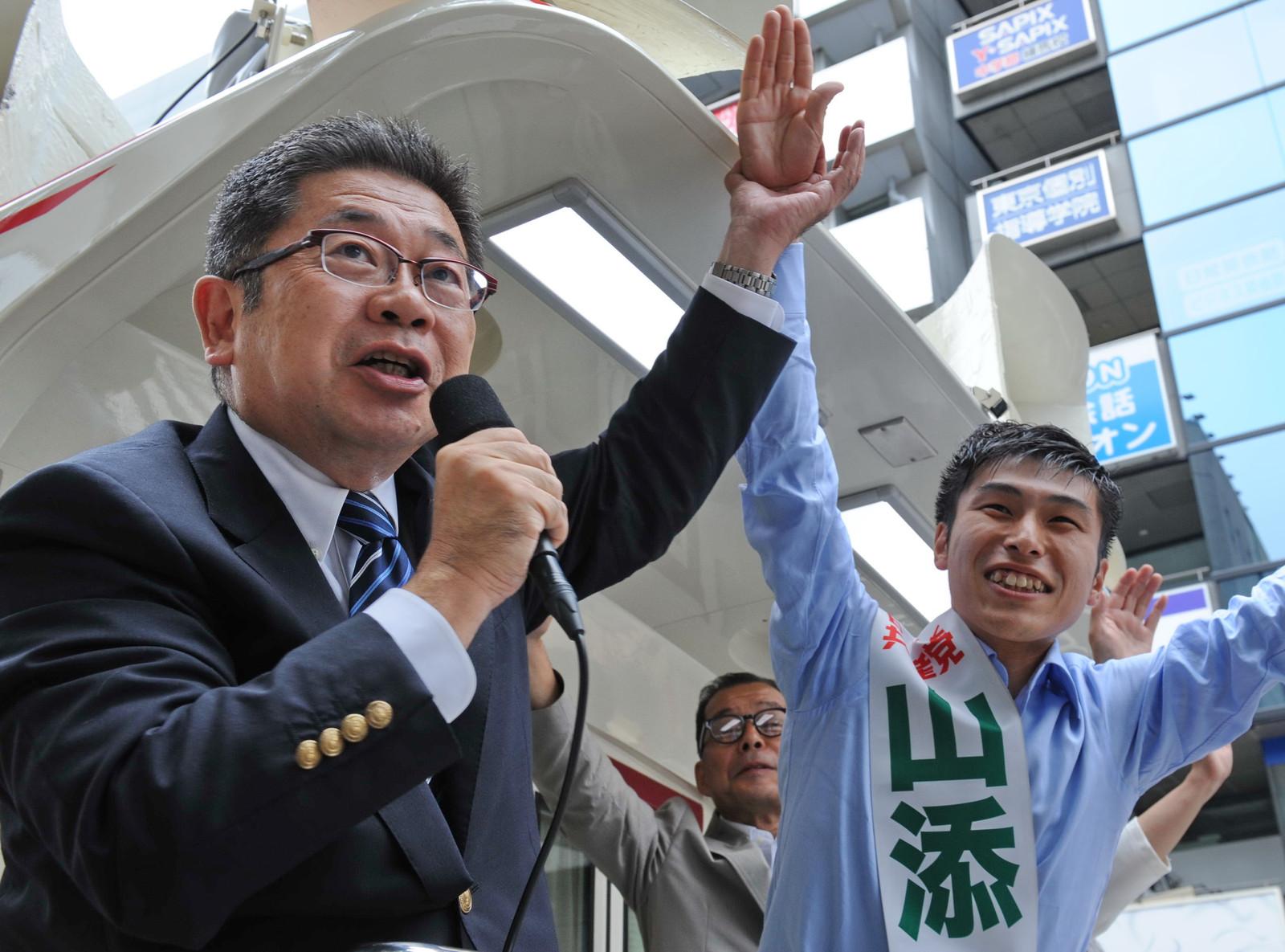 当落線上の大激戦・大接戦 日本共産党広げに広げ、山添候補を国会に押し上げよう小池書記局長が訴え