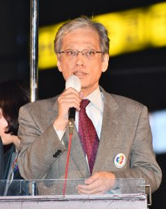 法政大学の山口二郎教授