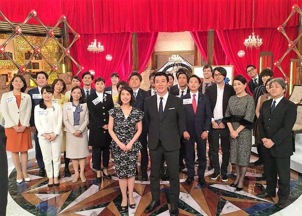 11月5日放送「加藤浩次VS政治家」(フジテレビ)に出演した吉良よし子参院議員と本村伸子衆議院議員