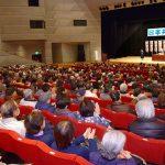 小池晃書記局長が市議選での必勝を訴えた党演説会=3日、東京都日野市