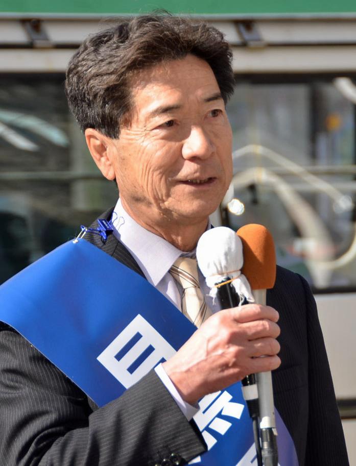目黒重夫市長候補
