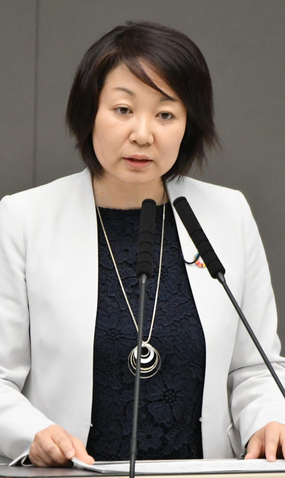 斉藤まりこ都議会議員