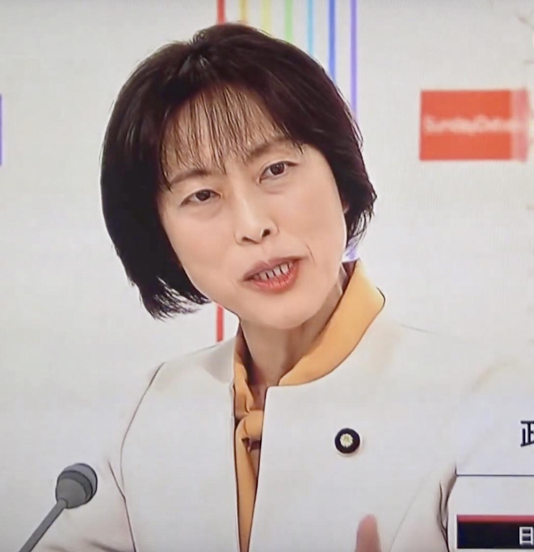 田村智子政策委員長