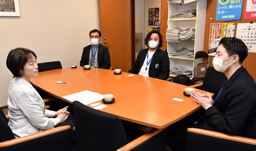 田村智子政策委員長・参院議員