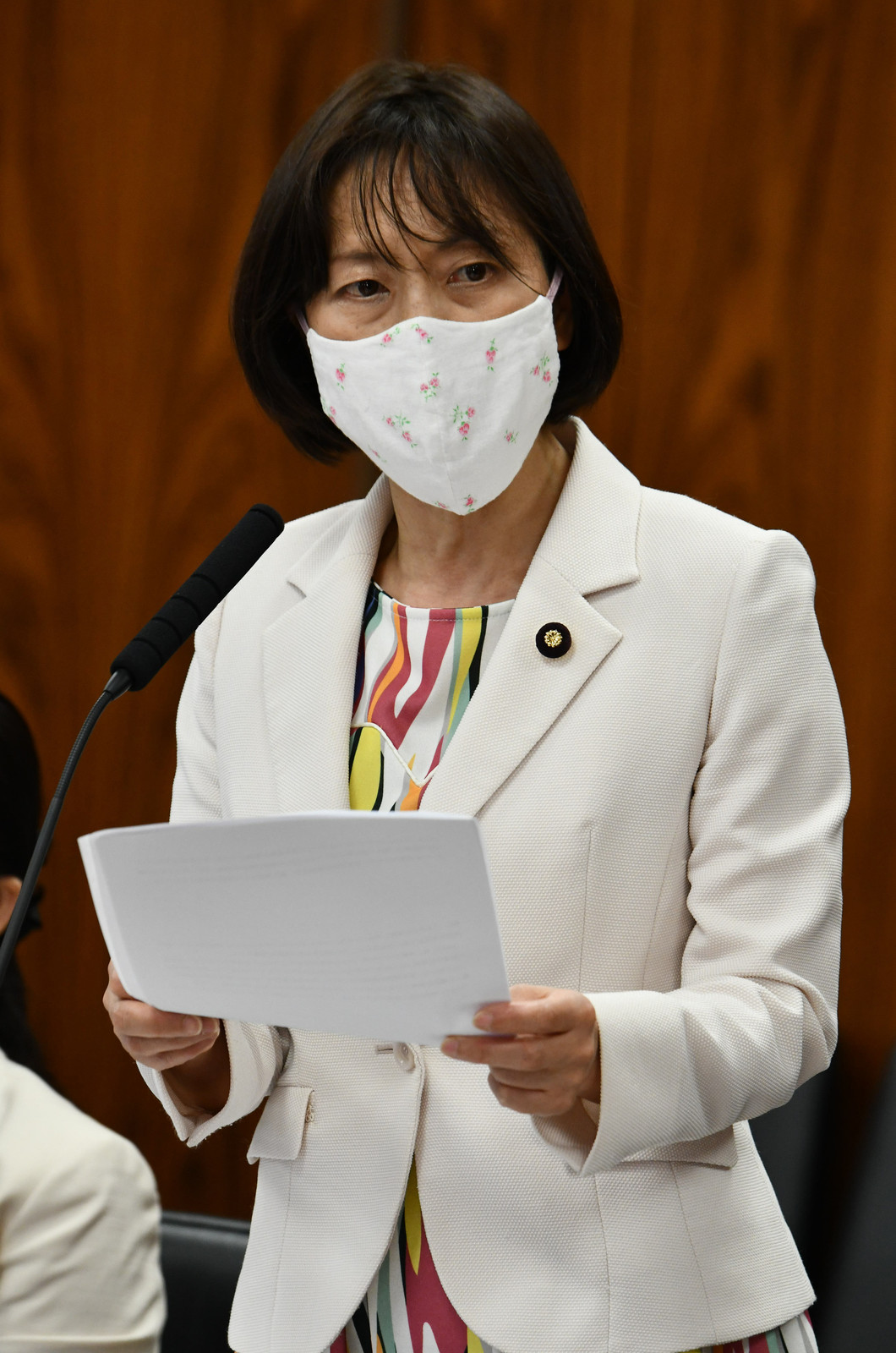 田村智子議員