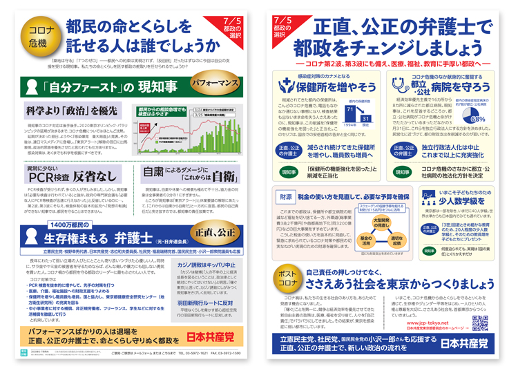 東京民報6・7月号外