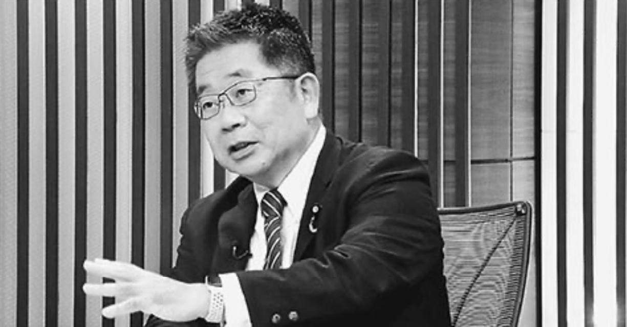 「報道1930」で発言する小池晃書記局長
