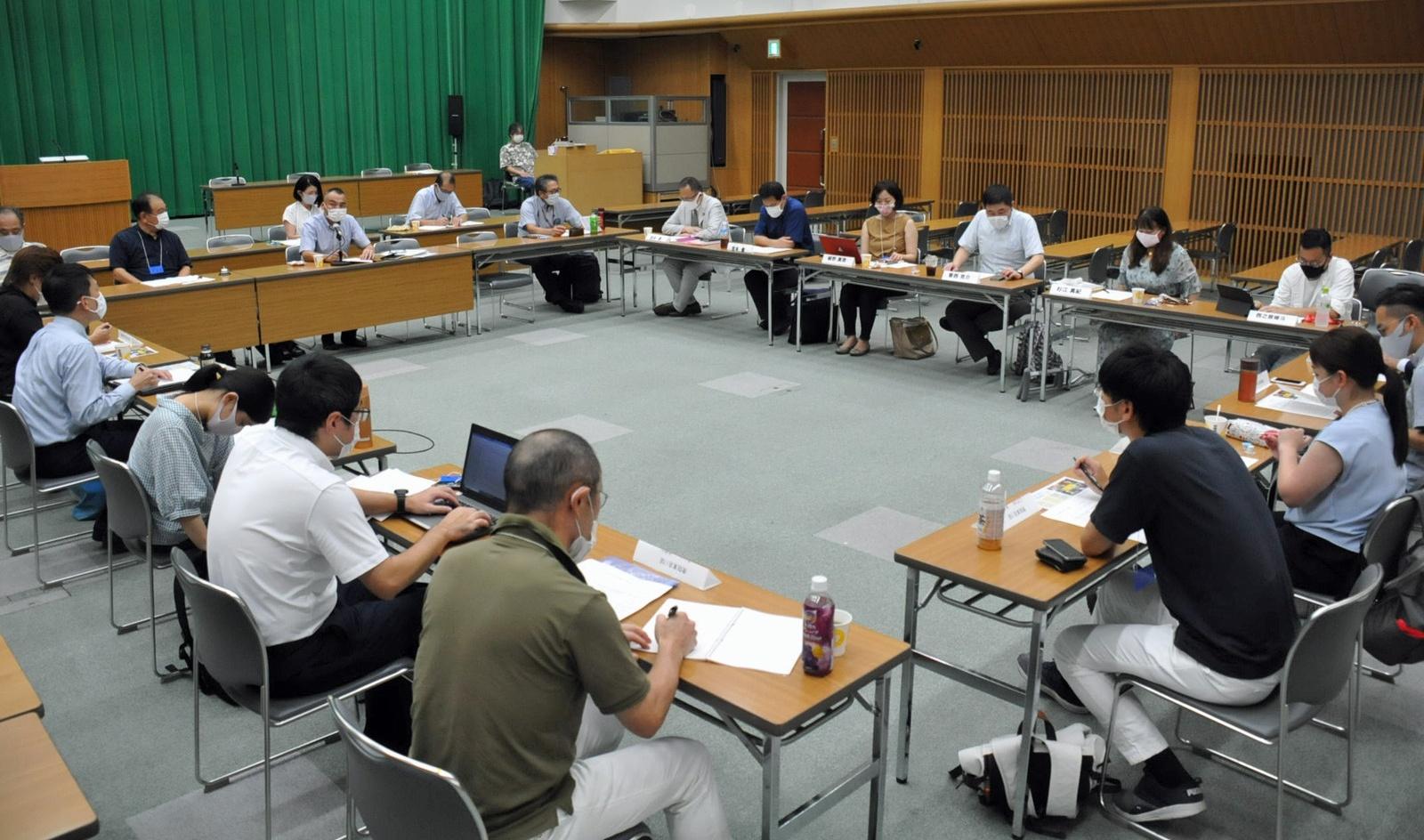 日本共産党東京都委員会の衆院候補者会議